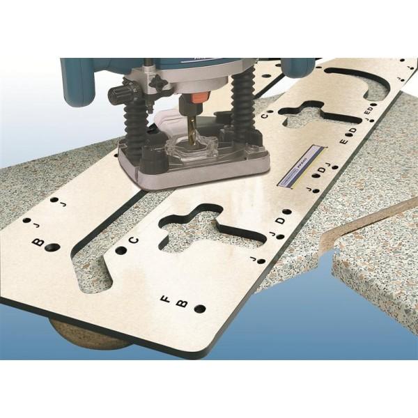 Шаблон для стыковки столешниц PFE60 - Euro Tools